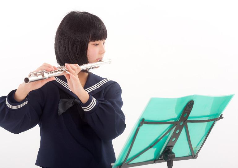 管楽器レッスンの様子